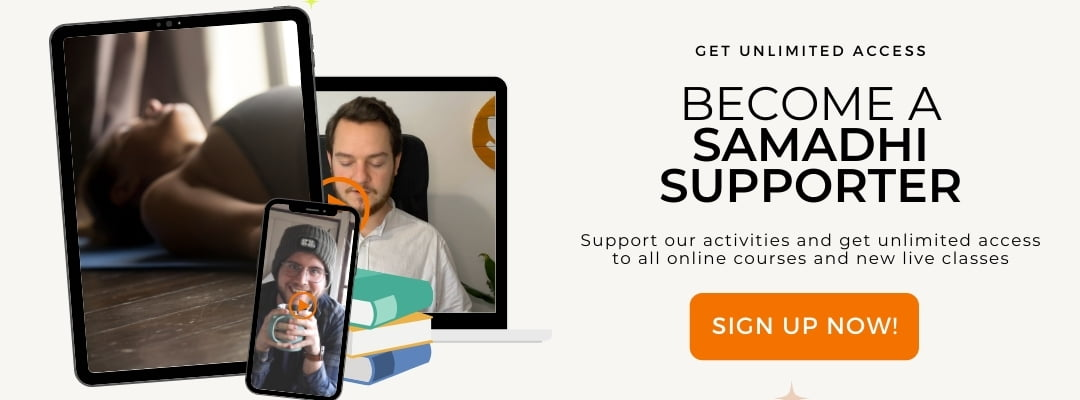 Sign Up Samadhi Supporter